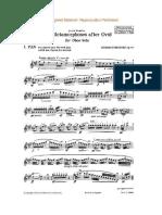 Britten - Pan (Oboé Solo)