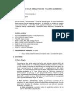 Analisis Juridico de La Obra Literaria Calixto Garmendia