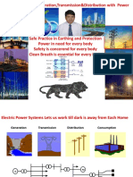 Power Transmission and Distribution Along With Power Qualty Presentation by JMV LPS