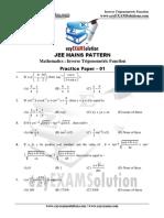 Inverse Trignometric Function Paper-1