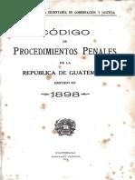 Codigo de Procedimientos Penales Jose María Reyna Barrios