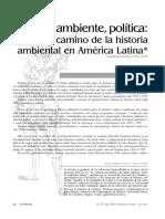 Gallini. Historia, ambiente, política
