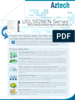 Aztech DSL5028EN Series Product Specifications