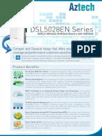 Aztech DSL5028EN Series Product Specifications