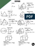 [Note & Worksheet] Isipadu