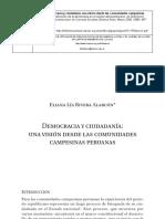 Eliana Alarcón - Democracia y Ciudadanía