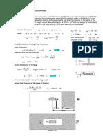 Design of Rectangular Footing - 1