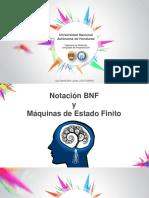 Exposición de BNF y MEF