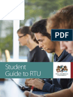 Student Guide to RTU 2016