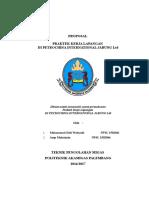 Proposal PKL Petrochina