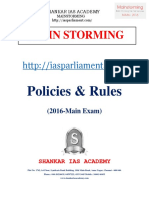 Policy and Rules