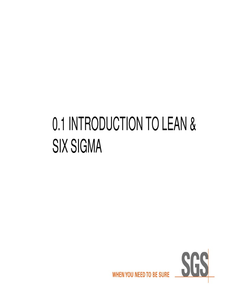 LEAN SIX SIGMA simplified pdf | Six Sigma | Business Process