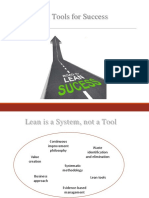 Lean Tools for Success -Deck