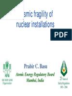 Seismic Fragility - BASU