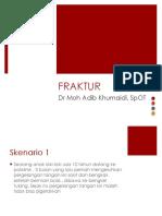 Presentasi Fraktur FKK UMJ