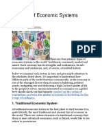 4 Types Of Economic Systems Explained.docx