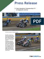 PR 201 2017 European Speedway U21 at Daugavpils Latvia