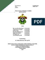Lampiran ChecklistLaporan Hasil-Aspek K3 Pegawai Roti Daeng (Kelompok 1)
