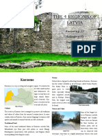 2 the 4 Regions of Latvia