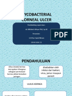 Mycobacterial Ulcus Cornea