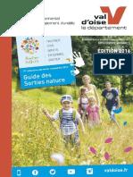 Brochure Sorties Nature 2016