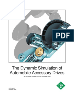 The Dynamic Simulation of Automobile Accessory Drives