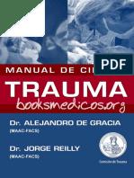 Manual de Cirugia Trauma-Alejandro de Gracia