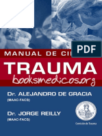 Manual de Cirugia Trauma-Alejandro de Gracia