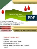 Materi Transfusi Darah Simposium PDUI