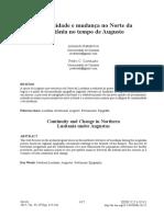 Continuidade e mudança no norte da lusitânia no período de Augusto