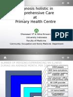 K-05 Diagnosis Holistik Dan Penatalaksanaan Komprehensif Pada Pelayanan Kesehatan Primer