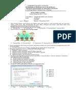 Soal Ujian Teori Produktif Kls XI TKJ Ganjil 1516