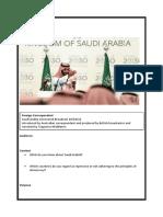 foreign correspondent saudia arabia