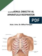 Examen Obiectiv Respirator