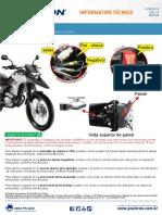 c0279 15 Honda Xre 300 Procedimento de Instalacao Do Duoblock Pv