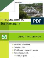 01 Intro to Sustainability