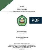 COVER Referat Hemangioma