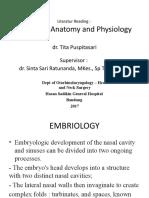 Anatomy Sinonasal Edit