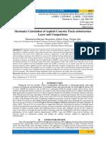 Mechanics Calculation of Asphalt Concrete Track-substructure Layer and Comparisons