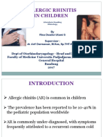 PPT ALLERGIC RHINITIS IN CHILDREN Rina.ppt