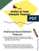 Analiza Pe Baza Bilantului