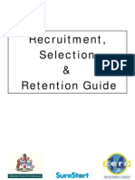 Recruitment Selection Guidance