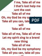 take all of me