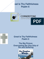 PowerPoint Psalm 6 Great is Thy Faithfulness