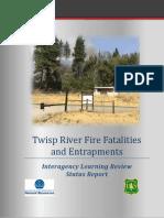Twisp River Fire Status Report