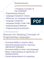 Programming Languages Ch01- Introduction