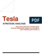 Tesla strategic analysis