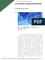 Antigas e Novas Formas de Gerenciamento de Produção – DM