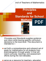 Principles and Standards