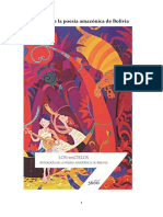 Homero Carvalho (Antologador) - Los Tres Cielos. Antología de La Poesía Amazónica de Bolivia